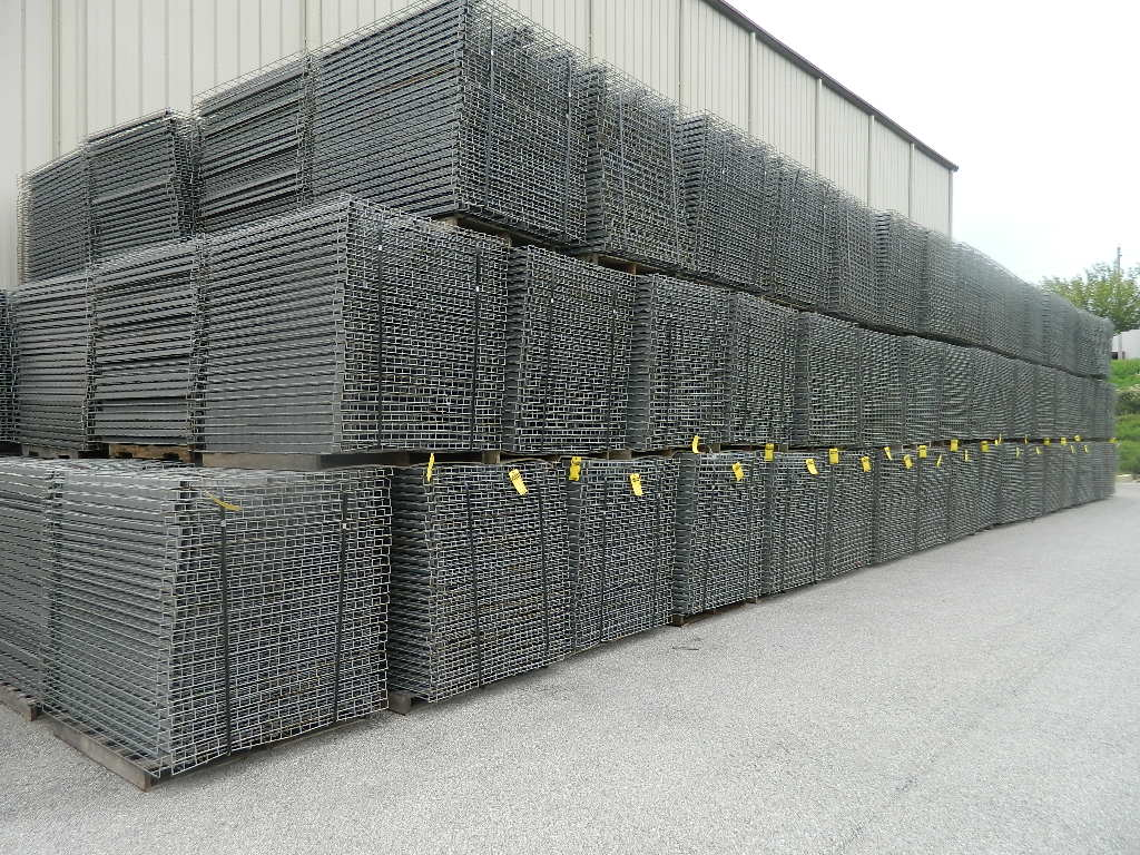 Used Wire Decking
