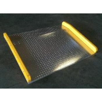 "48""L X 60""W, 10,000 lb Cap. Aluminium Dock Board"