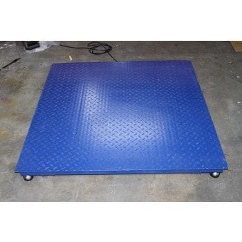 Pallet Floor Scale 4 X 4, 5000lb Cap
