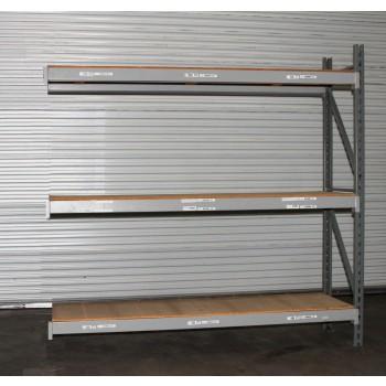 """New Adder Unit with 3 shelves 96""""H X 24""""D X 96""""L"""
