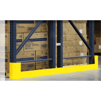 """EARP-48LR-3/8, 48"""" Right or Left End of Aisle Rack Protectors"""