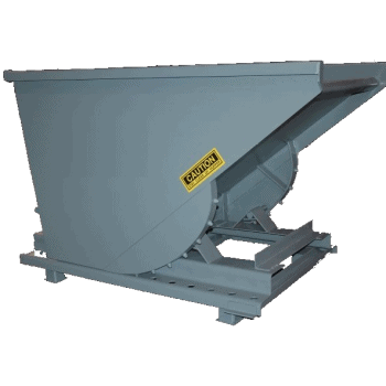 1 Cu Yard, Self Dumping Hopper, 4000 lb Capacity