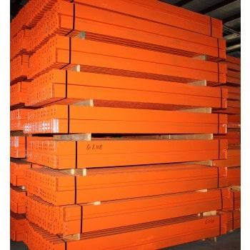 "New Teardrop Beam: 108""L X 6""W, Orange, 8300 LB Cap/Pair UDL"