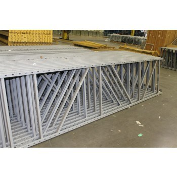 """USED PENCO UPRIGHTS 12'H  X 36""""D , 3"""" X 1-5/8"""" POST"""