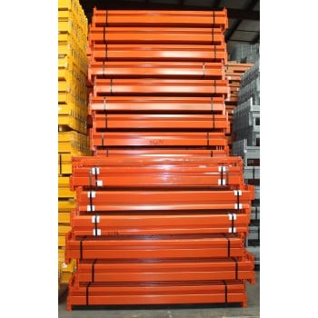 "New Teardrop Beam: 72""L X 3.5""W, Orange,  5700 LB Cap/Pair UDL"