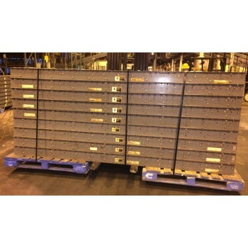 """100'L X 30""""W Chain Driven Powered Conveyor Including Drive"""