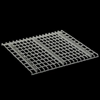 "24""D X 46""W Used Standard Channel Wire deck"