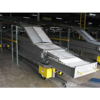 Heavy Duty 2-Stage Drive in Gravity Truck Loading Conveyor