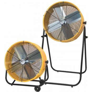 MaxxAir BF24TF2N1YELUPS 24-Inch 2-in-1 High Velocity Air Movement Portable Air Circulator Floor Fan