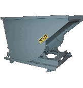 1.5 Cu Yard, Self Dumping Hopper, 4000 lb Capacity