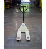 """Industrial Narrow Fork Pallet Jack : 21""""W X 48""""L, 5000lbs cap."""