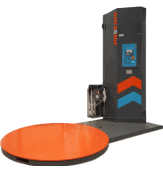 New Low Profile Semi-Automatic Stretch Film Wrapper
