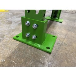 Bolt-On Seismic Foot Plate