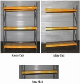 Used Pallet Rack Shelving