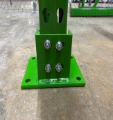 Bolt On Seismic Foot Plate